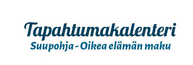 Suupohjan tapahtumakalenteri logo